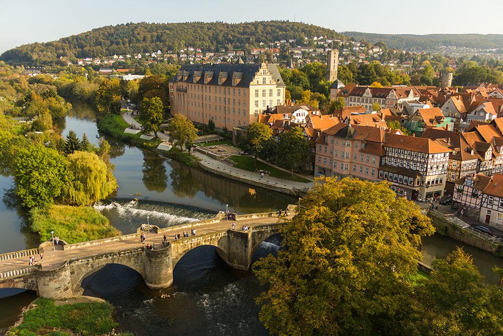 Luftaufnahmen Hann Münden Tourismus