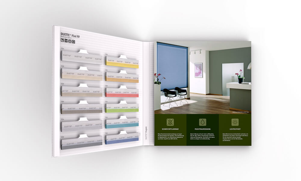 3D Visualisierung Hunter Douglas