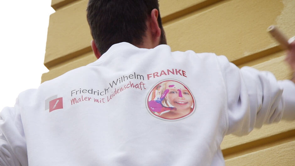Imagefilm und Werbefilm Maler Franke Berlin