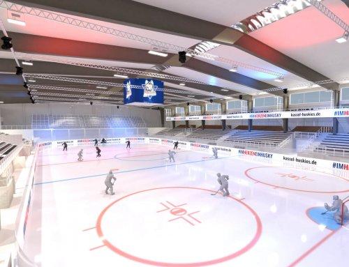 Kassel Huskies – Neue Eishalle 3D
