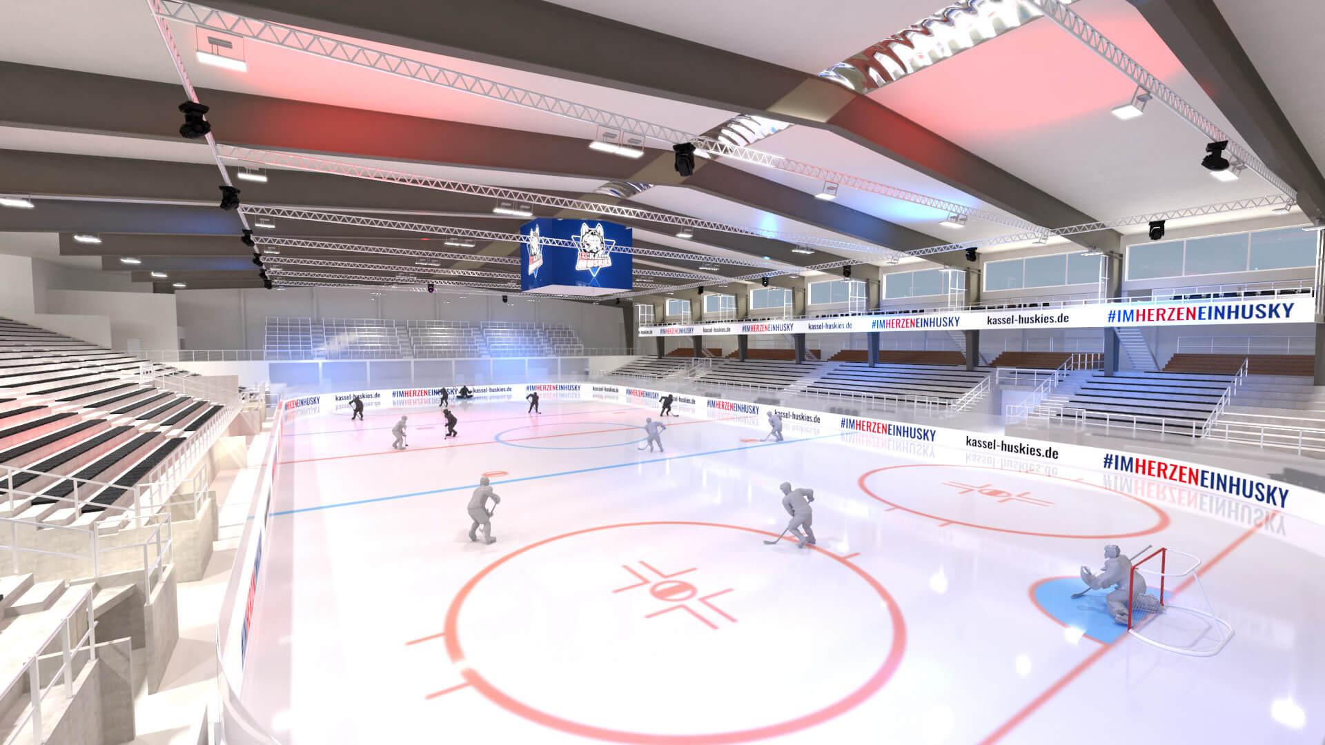 Kassel Huskies neue Eishalle 3D_1