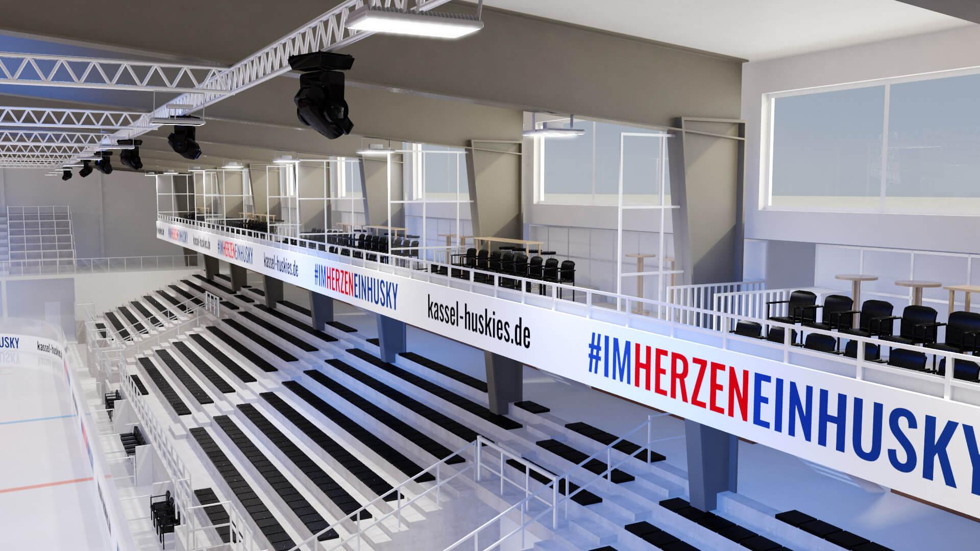 Kassel Huskies neue Eishalle 3D_2